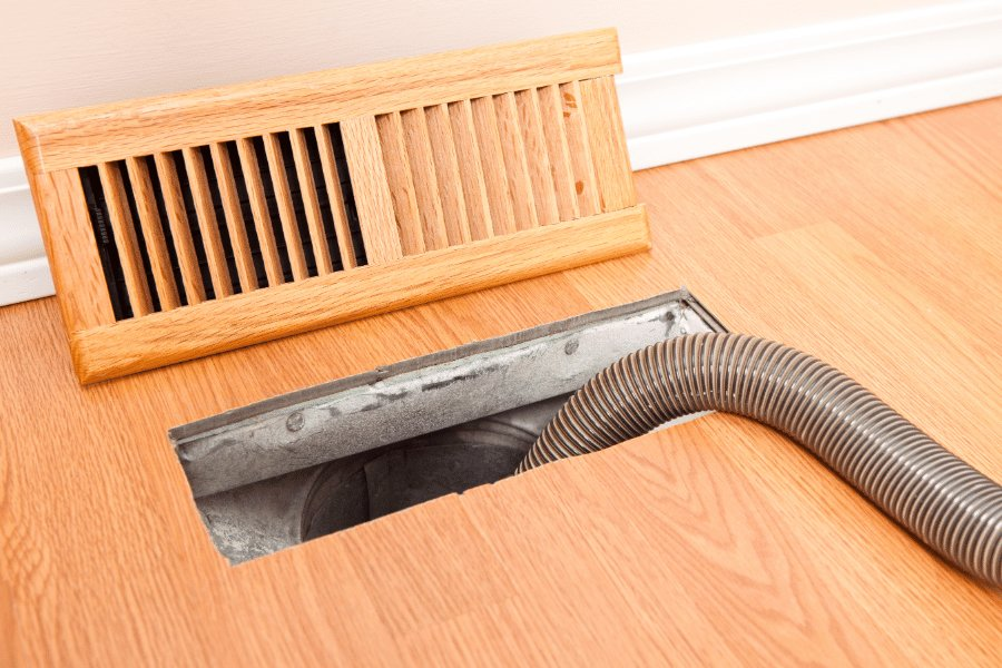 HVAC Cary NC - Air duct cleaning