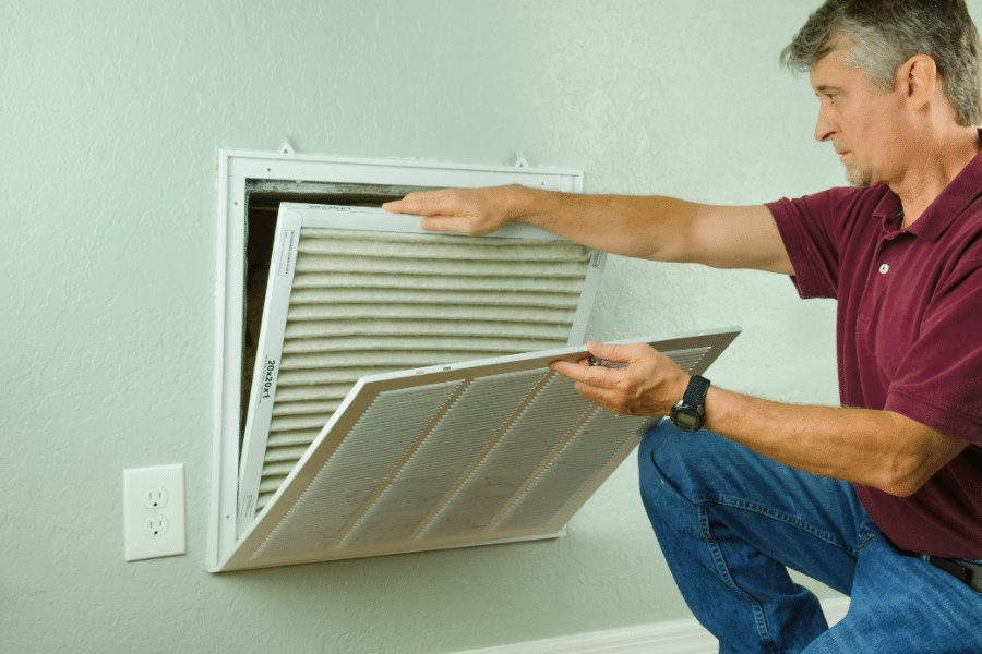 HVAC Cary NC - Air duct replacement